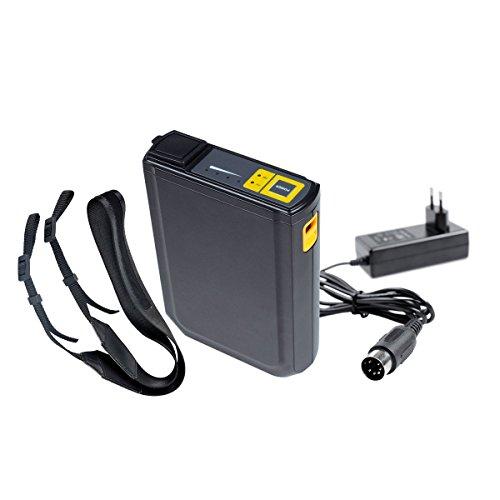 vidaXL Powerblock für Systemblitz Aufsteckblitz schwarz Akku / Batterie für Blitz