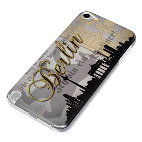 deinPhone Apple iPod Touch 5 5G HARDCASE Hülle Case Berlin Skyline