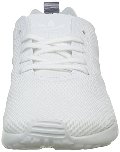 adidasZX Flux ADV Smooth - Scarpe da Ginnastica Basse Donna Bianco (Core White/Core White/Blush BlueCore White/Core White/Blush Blue)