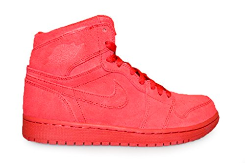 Nike Air Jordan 1 Retro High - Gym red/Gym red, Größe:8 (Retro High 1 Jordan Air 332550)