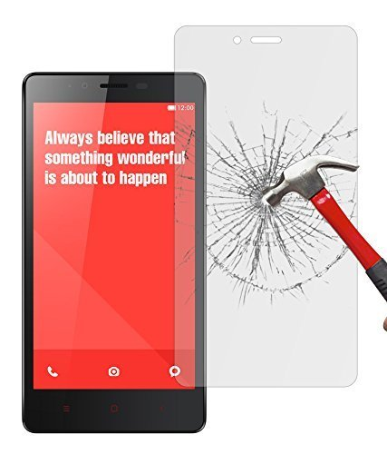 Chevron Anti-Shatter Tempered Glass Screen Protector For Xiaomi Redmi Note 4G  available at amazon for Rs.129