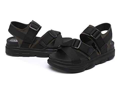 pengweiSandali sandali sottili bassi piani estivi donna sandali con sandali romani 2