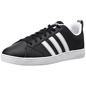 Adidas VS Advantage, Scarpe da Ginnastica Uomo, Nero (Negbas/Ftwbla), 39 1/3 EU