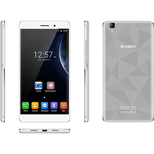 MYQyiyi Smartphone Libre Android 6.0,Teléfonos Móviles Libres Quad Core 2GB+16GB (Gris)