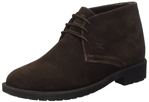 Lumberjack Cambridge, Baskets Hautes Homme Marrone (Ce002 Dk Brown)