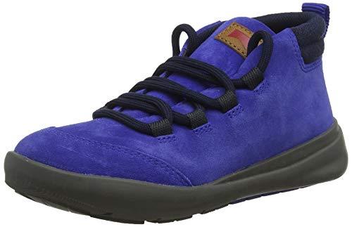 Camper Ergo Kids, Zapatillas Altas para Niños, Azul Medium Blue 420, 34 EU