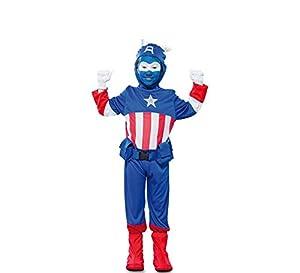 Fyasa 706190-t02disfraz de Capitán, azul, tamaño mediano