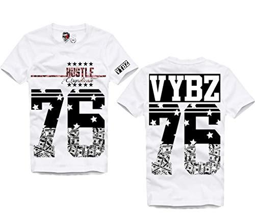 ba3b5d672969b e1syndicate T-Shirt VYBZ Kartel Reggae Dancehall Jamaica Weed Ganja 2838