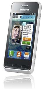 Samsung Wave 723 S7230 Smartphone (8,1 cm (3,2 Zoll) Display, Touchscreen, 5 Megapixel Kamera) cream-white