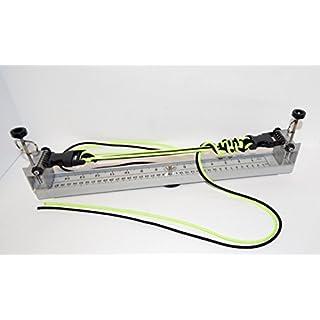 Säure Tactical® 15,2cm–38,1cm 15cm bis 38cm Profi Paracord Jig–Gürtel Armbänder Parachute Tragetücher alle Aluminium & verstellbar