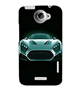printtech Superfast Car Back Case Cover for HTC One X::HTC One XT::HTC 1X