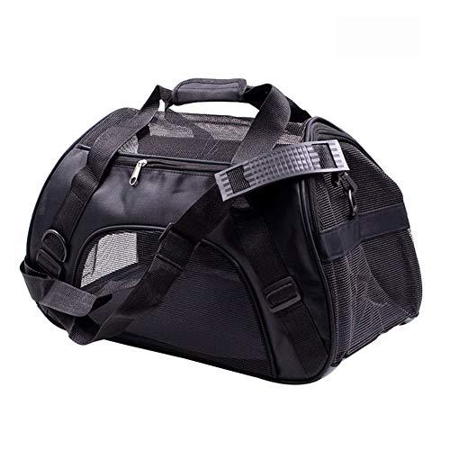 AWSAYS Mode Haustier Tasche Tragbare Haustier Rucksack Hundeausflug Tasche Crossbody Haustier Tasche Pet Falttasche -