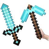 Flourishing Minecraft, Blaues Diamantschwert und Spitzhacke im Set