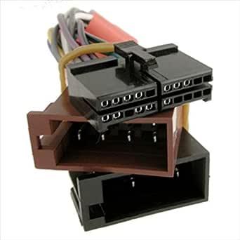 Aeg Prology 20 Pin Iso Kabelbaum Stecker Adapter Für Autoradio Gewerbe Industrie Wissenschaft