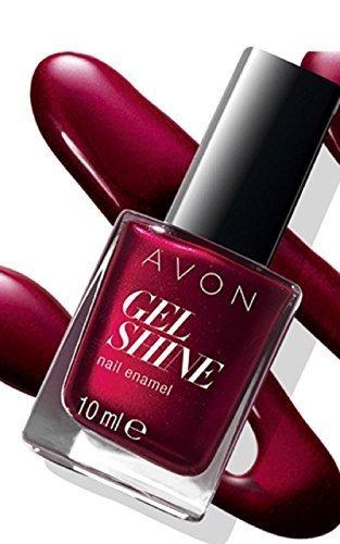 Avon Gel brillance Vernis à ongles – Velours Rouge