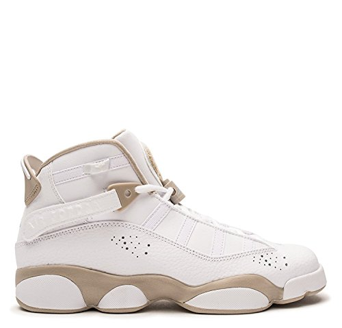 Jordan Nike Kids 6 Rings GG White/LightSand 323399-107