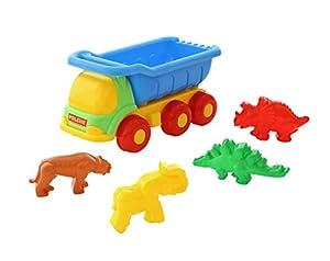Polesie Polesie57860 - Camión de Juguete Universal con 4 Formas de Animales