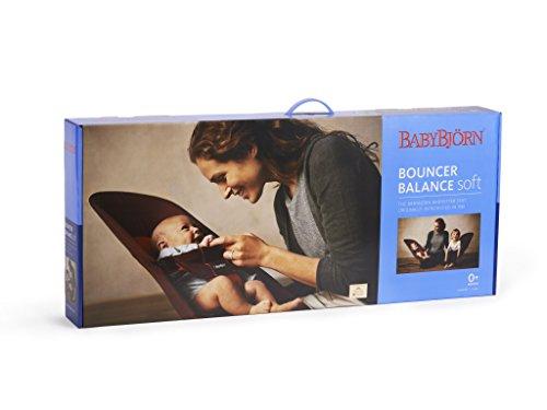 BABYBJÖRN Babywippe Balance Soft (Schwarz/Grau, Netzmaterial)