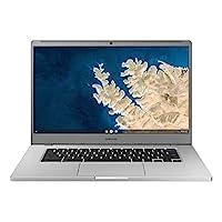 """SAMSUNG Chromebook 4 + Chrome OS 15.6"""" Full HD Intel® Celeron® Processor N4000 4GB RAM 64GB eMMC Gigabit Wi-Fi -XE350XBA-K02US"""