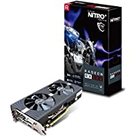 Sapphire RX 580 Nitro+ 4 GB GDDR5 Samsung Memory/PCI Express 3.0 Graphics Card - Black