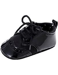 Tefamore Zapatos Bebé Niños Niñas De PU Suela blanda Cuna Recién Nacido Verano