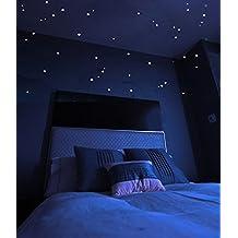 Estrellas Brillantes Adhesivas con Mapa de las Constelaciones. Estas Estrellas Adhesivas de Larga Duración Producen un Cielo Estrellado en El Techo o Pared de la Habitación de un Niño o Adulto