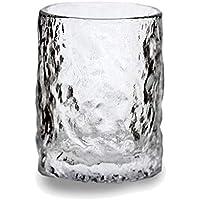 Vaso de whisky hecho a mano para copas de vino, vino, vino, hogar, bebidas espirales, hermoso hogar, barra, suministros de capacidad, 8,1 oz de altura, 3,7 pulgadas sin plomo, vaso de vino