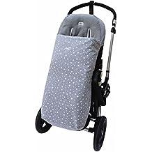 Saco de abrigo Universal para cochecito y silla de paseo, Impermeabilizado White Star Janabebé®