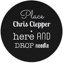 Coloque Chris Clepper aquí y suelte el deslizador de la aguja