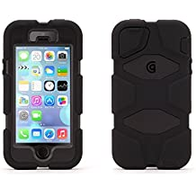 Griffin BT-GB39732-2 - Carcasa para Apple iPhone 5, color negro