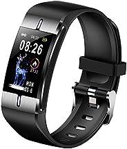 Smart Watch Body Fat Heart Rate Blood Pressure Monitor Weather Forecast Sport Wristband Fitness Bracelet