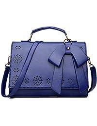 40df6c97af Pahajim Handbag leather small women satchel shoulder bag vintage crossbody messenger  bag for evening and party