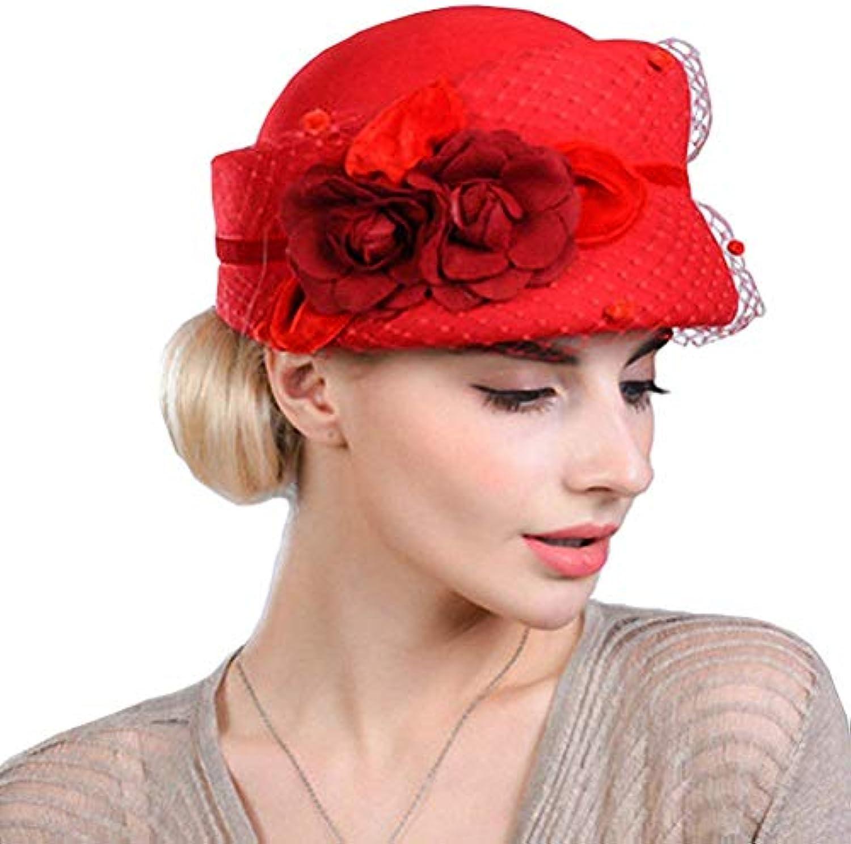 Cappelli Cappello Donna A Campana Donna Cappello Elegante Autunno Moda  Pizzo Inverno Floreale Unique Stlie Berretto Cappellino... Parent 996535 09309f87617a