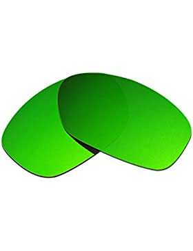 Hkuco Plus Mens Replacement Lenses For Oakley Pit Bull Sunglasses Emerald Green Polarized