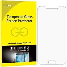 JETech Samsung S5Película Protección vidrio templado pantalla Protector ultra resistente Glass Screen Protector para Samsung Galaxy S5