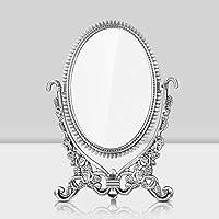 ToiM - Espejo retrovisor para tocador con espejo retrovisor y espejo retrovisor de doble cara
