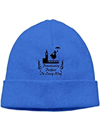Practically in Every Way Men Women Thick Ribbed Knitted Caps Classic Beanie Hats