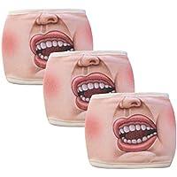 RANTA Unisex lavable divertido animal algodón anti polvo Máscara anti-ultravioleta Máscara 3 piezas | Máscara Reutilizables | Mascarilla Filtrada Antipolución