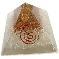 Bergkristall Edelstein Pyramide, Reiki Healing Chakra Pyramide, spirituelle Energetische Pyramide mit Bergkristall-Point... preisvergleich bei billige-tabletten.eu