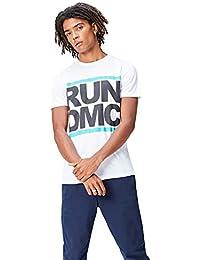 FIND - Run DmC Print, T-Shirt Uomo