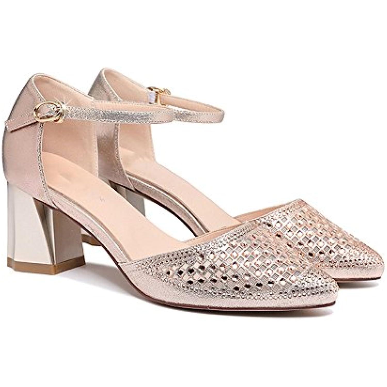 Des D'été Baotou HautB07d31vq6j S Chaussures Gljxg Gaolongjun Femme Talon Vêtehommes Femelle Avec Ts Extérieurs De otQCrBshdx