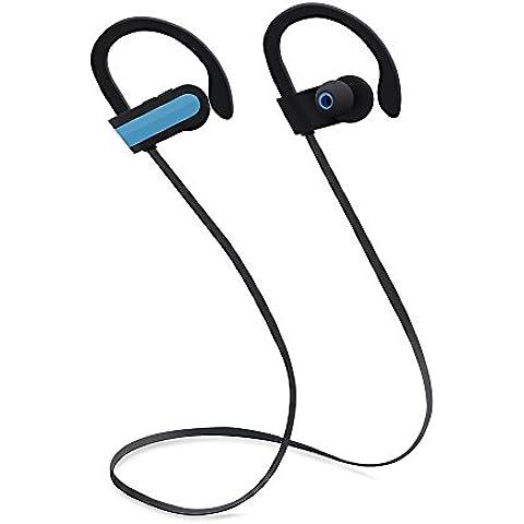 Cuffie Bluetooth n. Oranie Bluetooth 4.1Wireless Sport Auricolari Stereo con