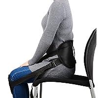 Healifty Cinturón lumbar corrector de postura y rehabilitación de dolor y lesiones
