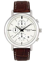 Mike Ellis New York hombre-reloj analógico de cuarzo cuero Donavan SM2960