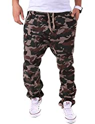 Bas de jogging militaire style camouflage