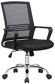 Moving Office Mesh Chair with Steel Base