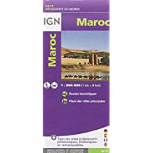 Morocco 1/800  :IGN.M.P.85108