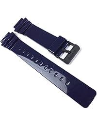 Casio Casio-24555-282 - Correa de resina , color azul oscuro (18)