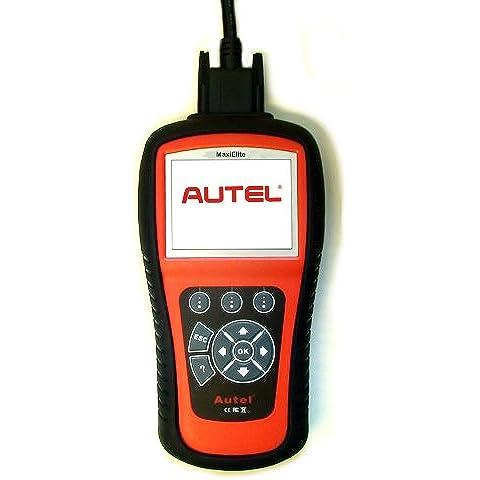 Autel MaxiDiag 701 4 herramientas de escaneado DS EOBD/ABS/trans/SRS asiático con Live datos