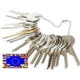 Bump-Keys Bumping-sleutels voor slotsloten - Spaanse kit A, 15 stuks